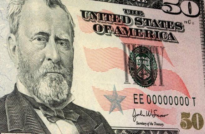 50 Dollars bill