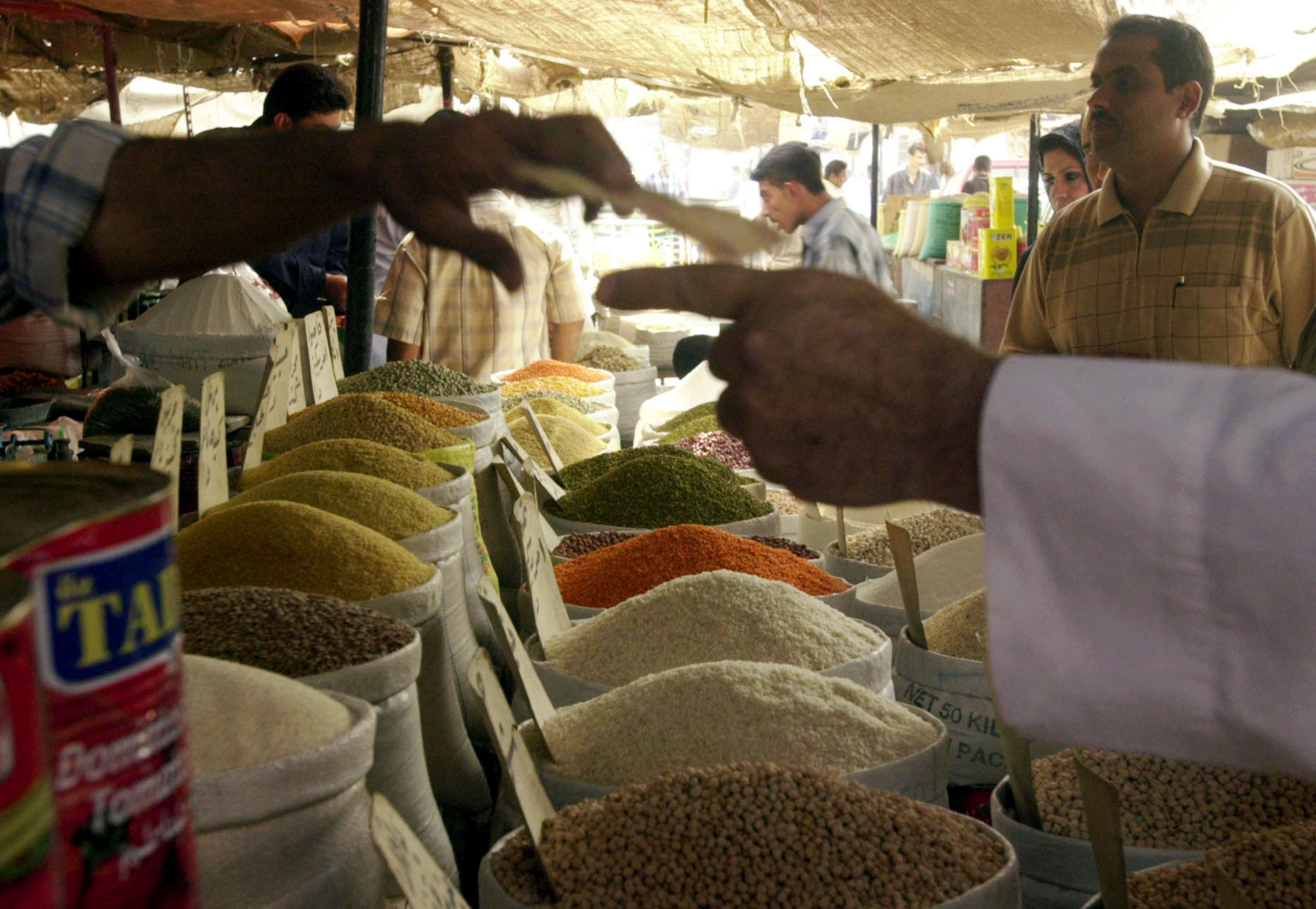 Restricting the diet  to no animal products is Lent one form for  fasting. Grains and spices and cakes made with orange substituting for milk or eggs, all commonly consumed in the Middle East at Lent.