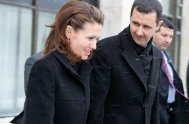 Syria's First Lady, Asma al-Assad.