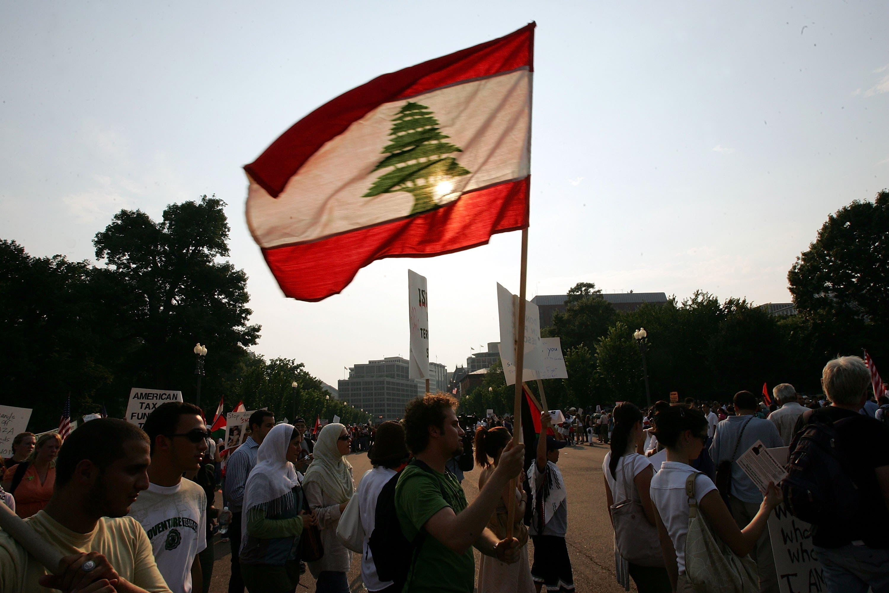 Lebanon's never been short of causes for protest: Cedar Revolution, and anti Israeli campaigns.