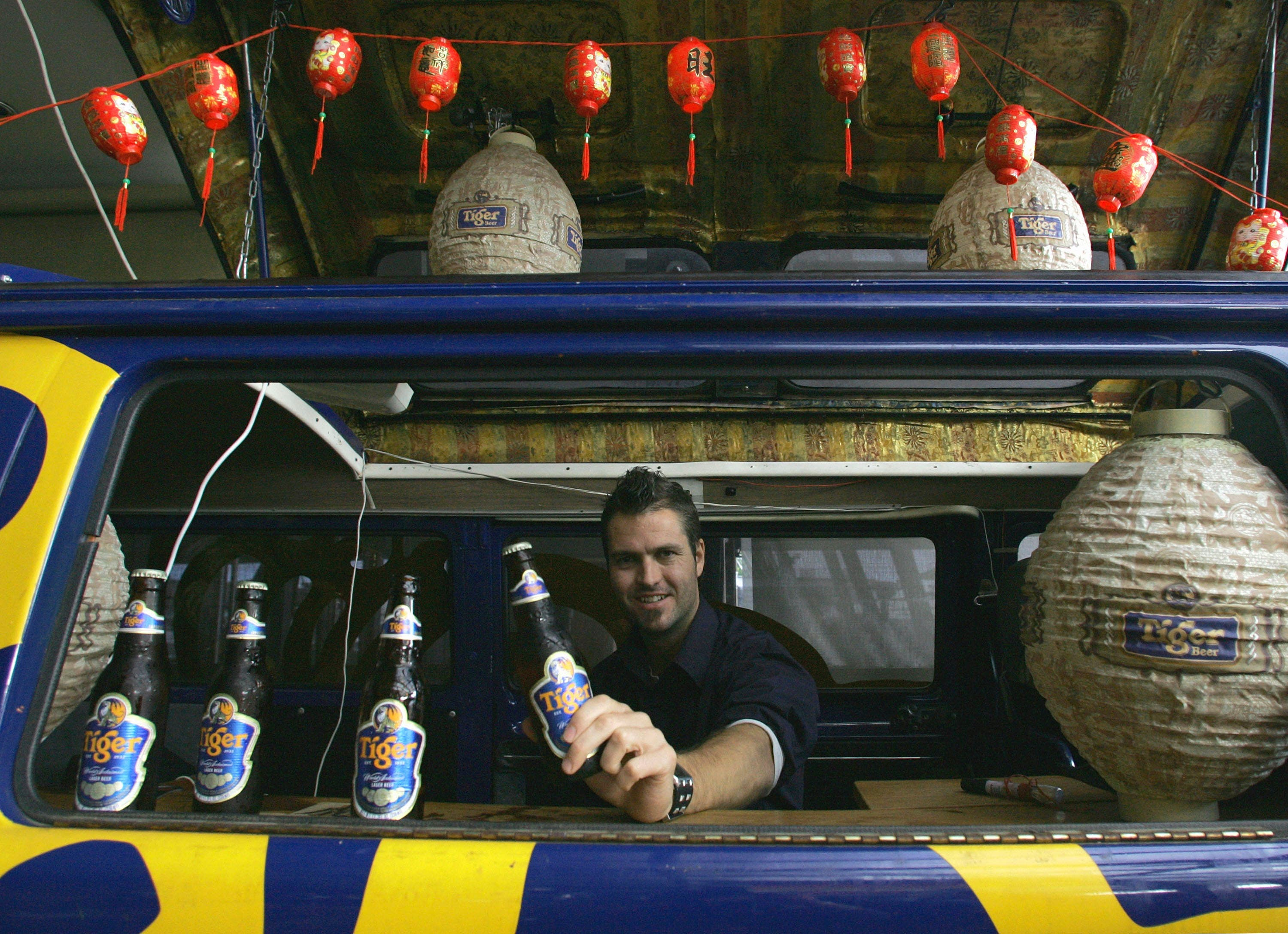 Malaysia scores 'high' in alcoholic consumption, no doubt a record boosted by the national favorite, Tiger Beer.