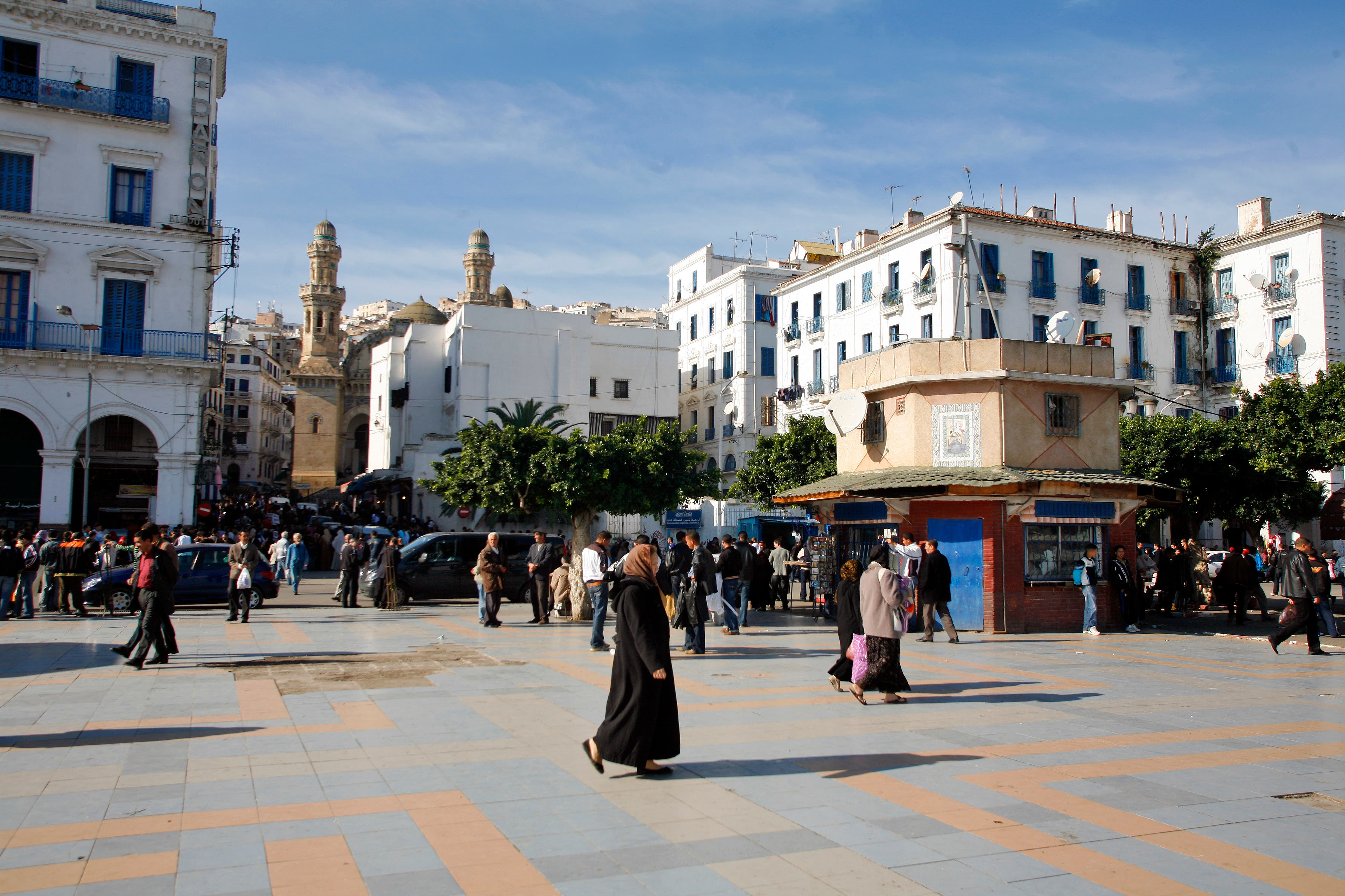 The IMF has revised down Algerian unemployment, but youths with out work remains a big issue