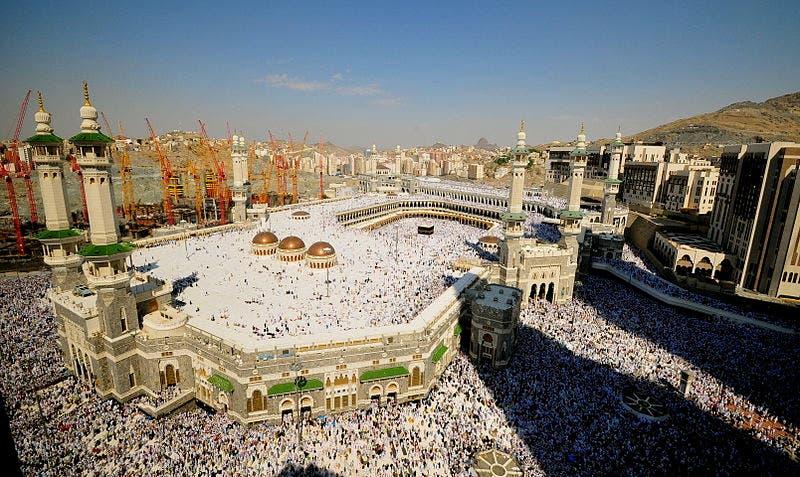 The Grand Mosque, Makkah (Source: Wikimedia/AJE)