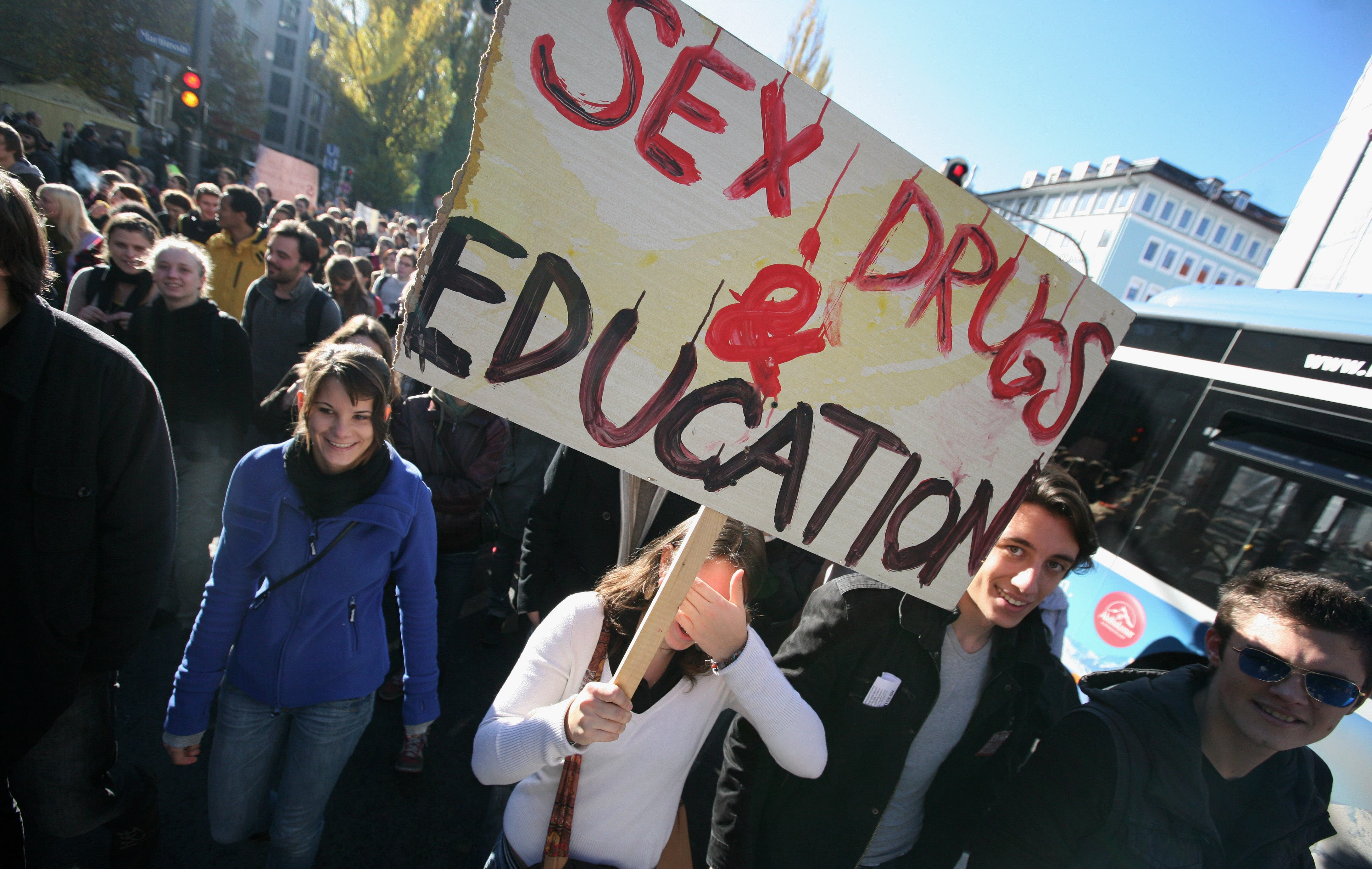 Al Bawaba reports that there is sill a lack of Sex education programs in the Middle East.