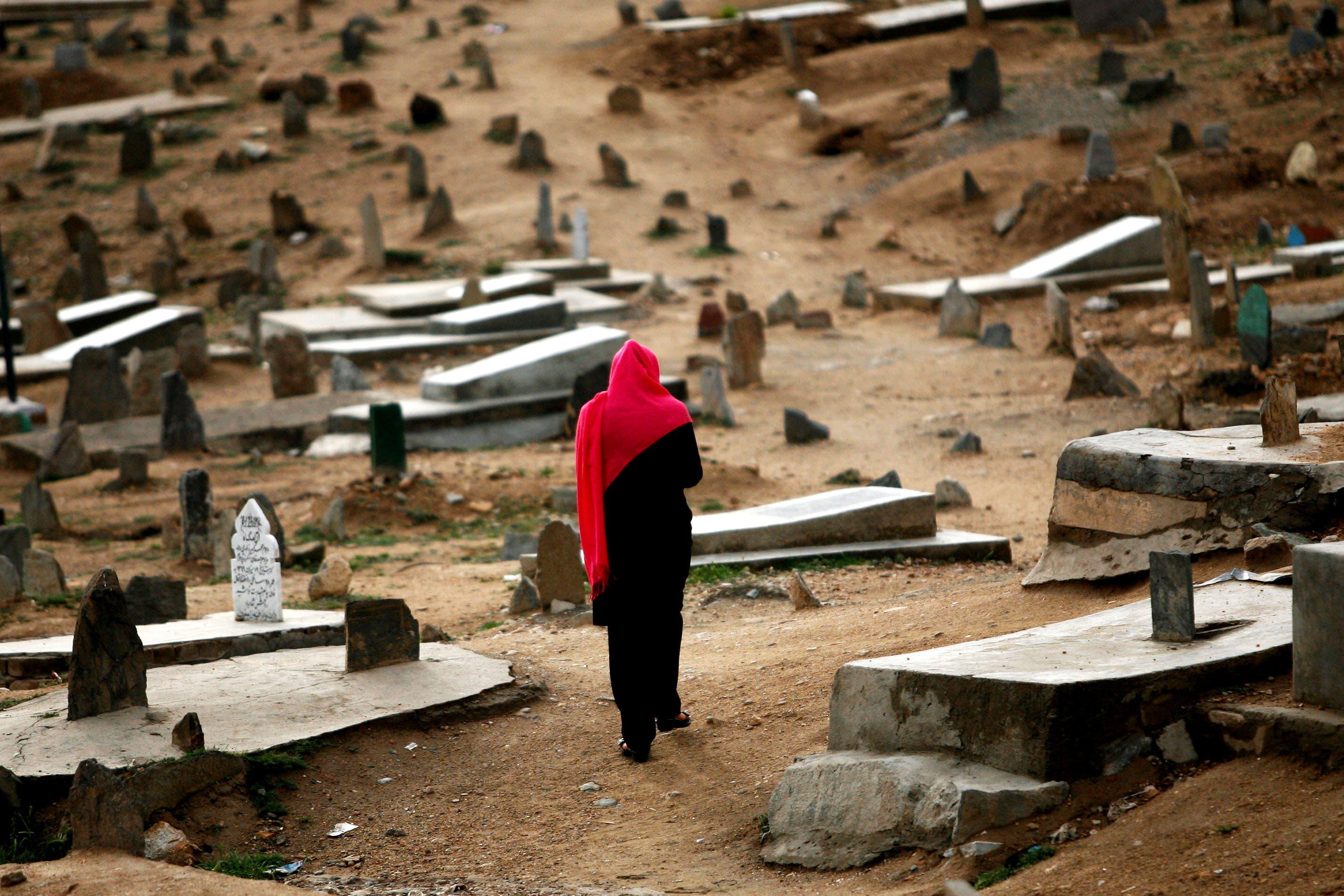 Muslim cemeteries without Osama Bin Laden...