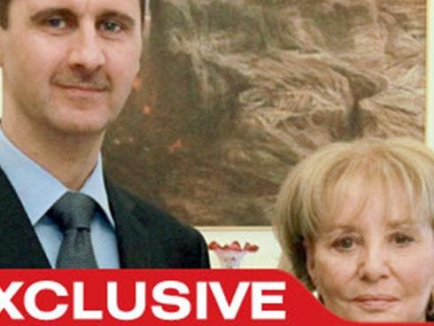 Assad and Walters: the odd couple