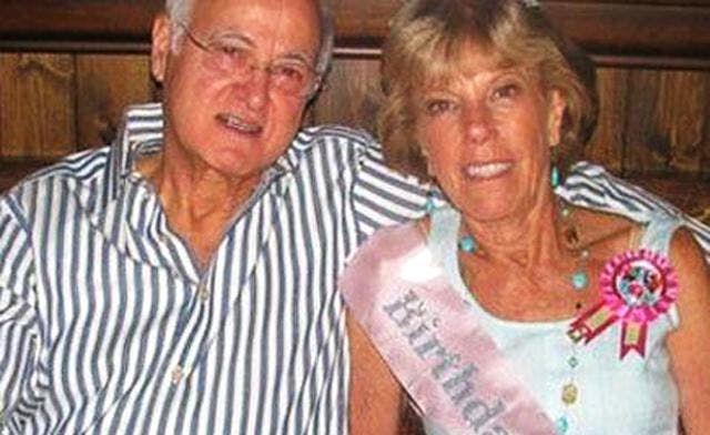 Steve Jobs' biological father, Abdul Fattah Jandali, shown here with Joanne Carol Schieble, Jobs' biological mother, never met his famous son. The 80-year-old Jandali, a Syrian immigrant from Homs, lives and works in the U.S. state of Nevada. (Photo courtesy Al Arabiya)