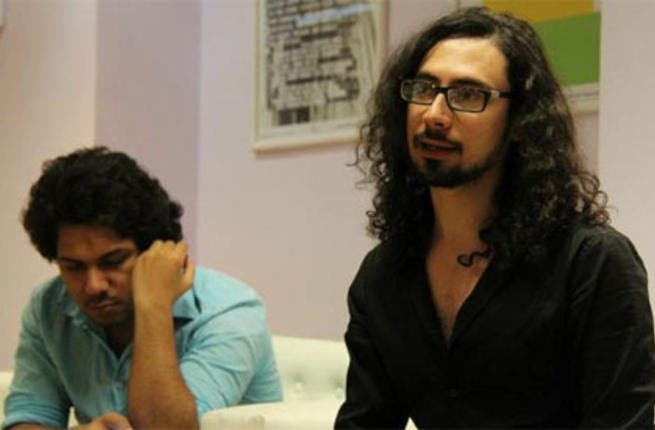 Adham Hafez, Haraka, meeting with the artists.
