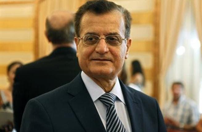 Adnan Mansour, foreign minister of Lebanon