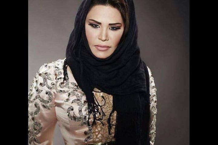 Ahlam's in a state of mourning after her uncle died recently. (Image: Facebook)