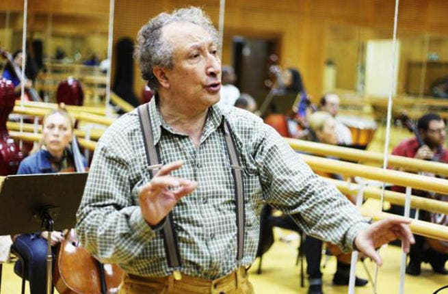 The Egyptian Philharmonic Society was founded by conductor Ahmed El-Saedi.