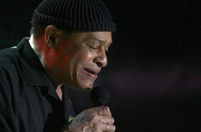 Al Jarreau performed in Dubai last night