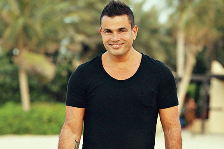 Winning: Amr Diab will be starring in a new drama in 2014, but we still have no idea what it's going to be about! (Image: Facebook)