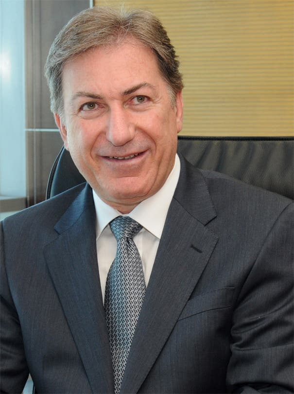 Andre Sayegh, CEO of First Gulf Bank