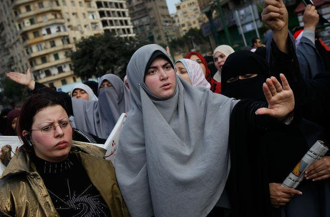 Tens of thousands of protesters took to the streets on Friday in Cairo and across the country.