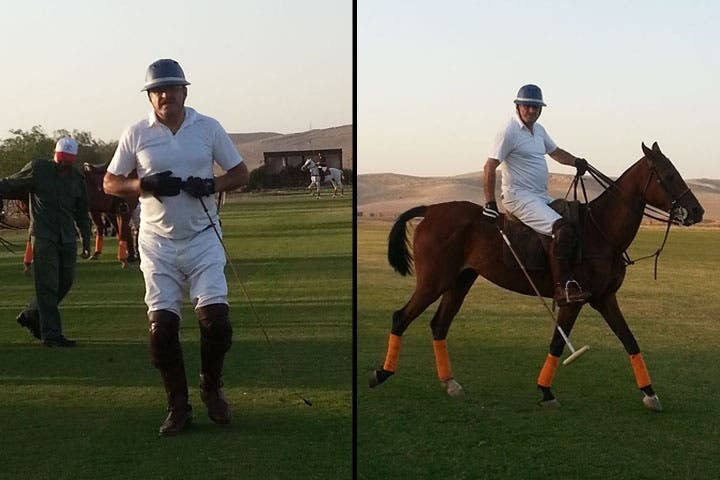Anmar Hmoud took pride in his horsemanship.