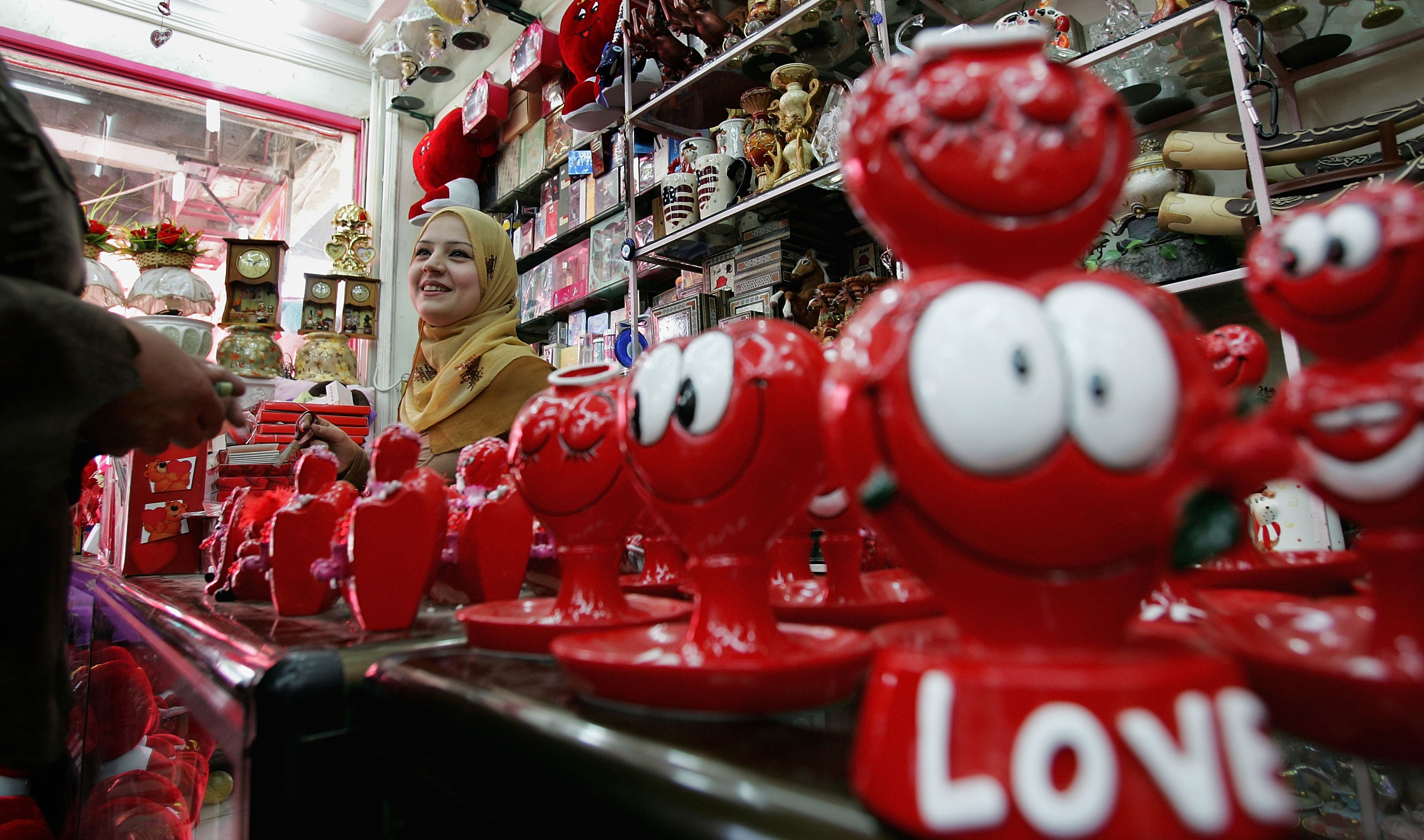 Is the Valentine's Day spirit getting too much for the singles of the Middle East?