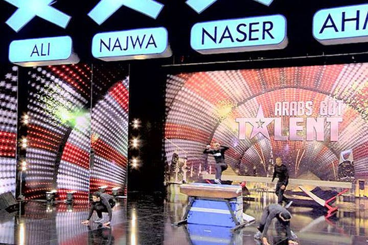A scene from Saturday's episode of Arabs Got Talent. (Image: Youtube screenshot)