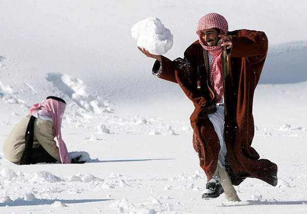 From paranoia to snowball fights, Arabs can find the fun in anything.