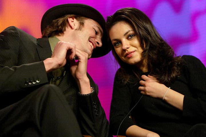 Ashton Kutcher and Mila Kunis have been friends for years. (Photo from 2004 by Kevin Winter/Getty Images)