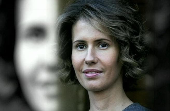 Asma Assad shows racket support for Syrian achievement