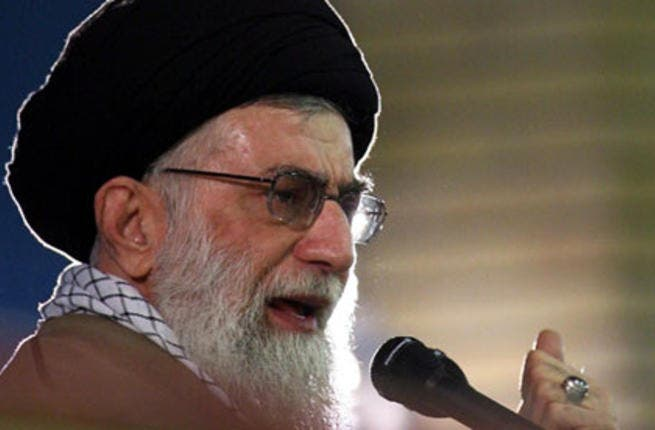 Iranian Supreme Leader Ayatollah Ali Khamenei has pushed for 'leniency' in Iran's dealings with the US. (AFP/File)