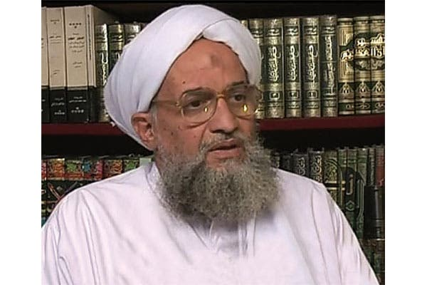 Zawahiri also expressed support for Egypt's Muslim Brotherhood in the recorded interview released to media outlets this weekend (File Archive/AFP)