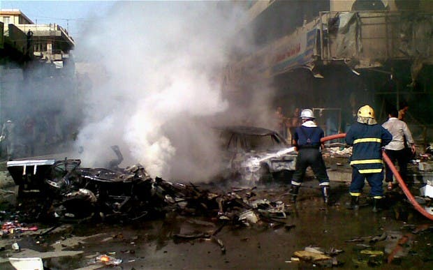 20 Shiite pilgrims were killed by a suicide bomber in Baghdad late Saturday (Courtesy of the Telegraph)