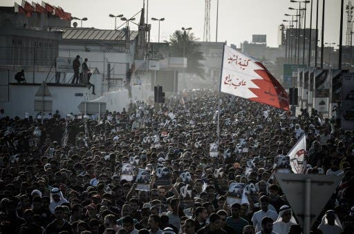 Bahrain is still swamped in political dissent, displayed in the streets of Manama