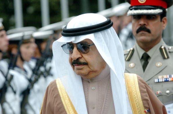 Khalifa bin Salman Al Khalifa on a diplomatic visit to New Zealand (Getty Photo)