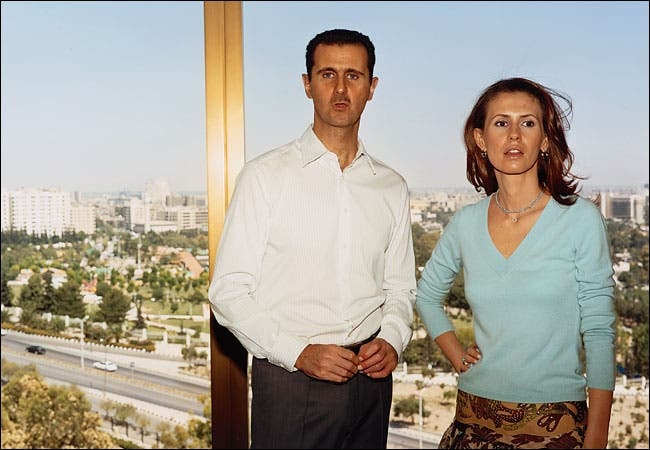 Bashar Al-Assad is not the only who will suffer from this E-mail leak, as several contacts of his and his wife's have been exposed. (Image source: