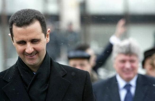 President Assad on an official trip to Moscow