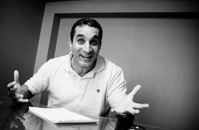Bassem Youssef under investigation as Morsi unveils his new clothes.