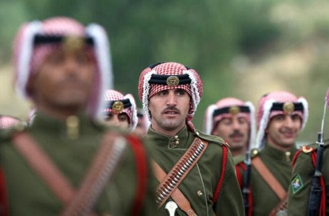 The Bedouin Guards of Honor at the Royal Palace in Jordan