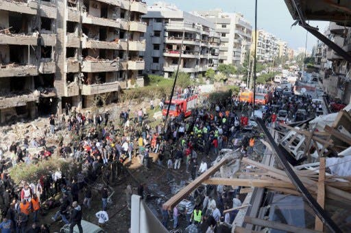 Abdullah Azzam Brigades claimed responsibility for the November bomb attack on the Iranian Embassy in Beirut (File Archive/AFP)