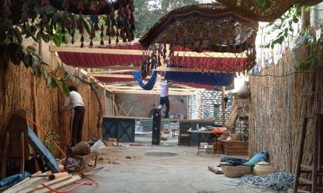 El-Raseef prepare new space (Photo: El-Raseef Facebook Page)