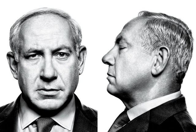 We don't think Pope Francis will forgive Bibi if the Israeli PM pulls out of their planned meet a second time! (Image courtesy of Vanity Fair)