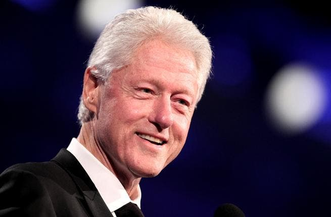 Bill Clinton is in the Life Ball celebosphere