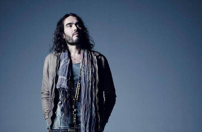 British comedian Russell Brand says he has cancelled Middle Eastern dates on his forthcoming tour after promoters said they couldn't guarantee his safety.