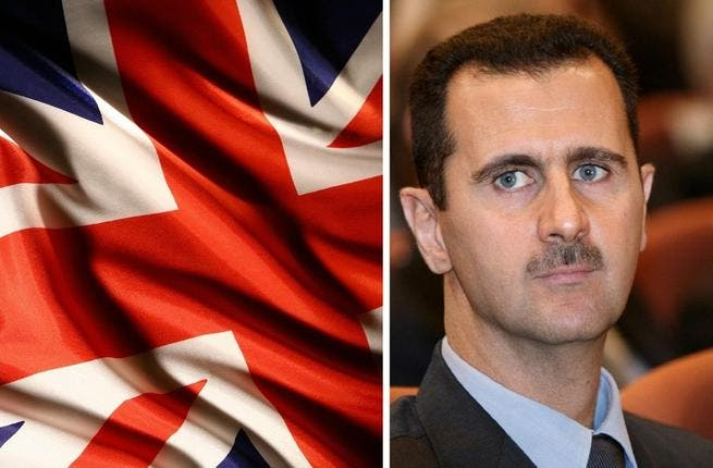 Britain and President Assad at loggerheads