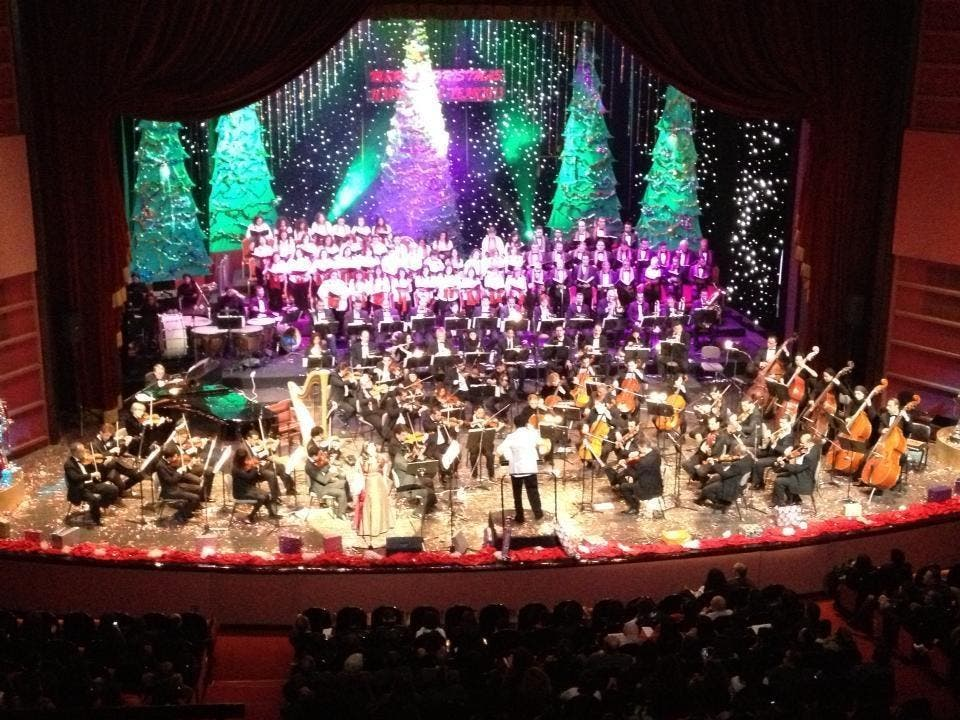 After performing in the Cairo Opera House over Christmas, the Cairo Celebration Choir is off to Morocco. (Image: Facebook)