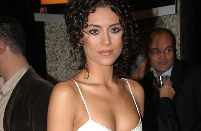 Turkish actress Cansu Dere.