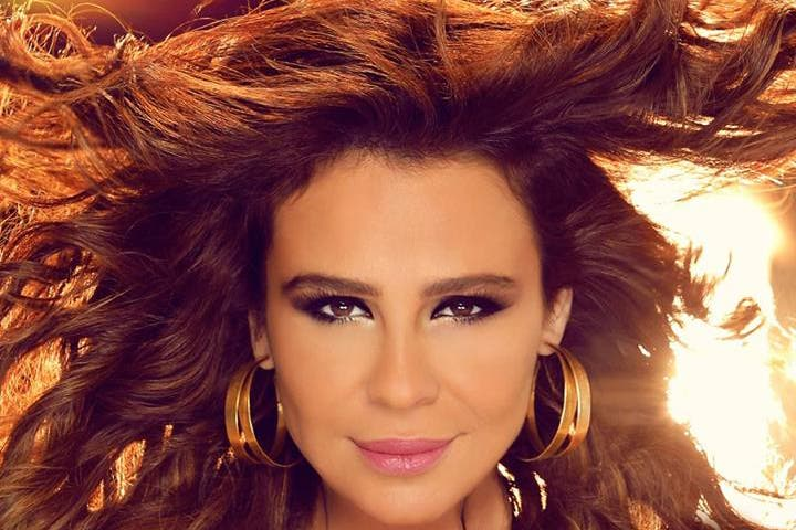 Full of life: Carole Samaha to star in a new musical, The Lady. (Image: Facebook)