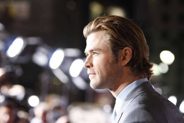 Chris Hemsworth is a happy daddy and a better actor because of it! (Image: Facebook)