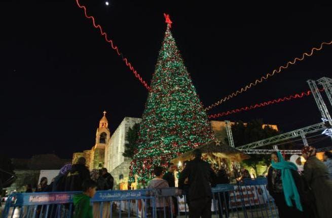 Christmas day in Bethlehem