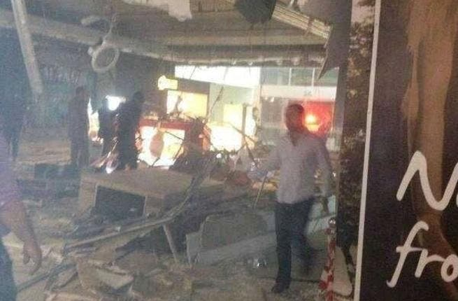 City mall ceiling collapses in Amman