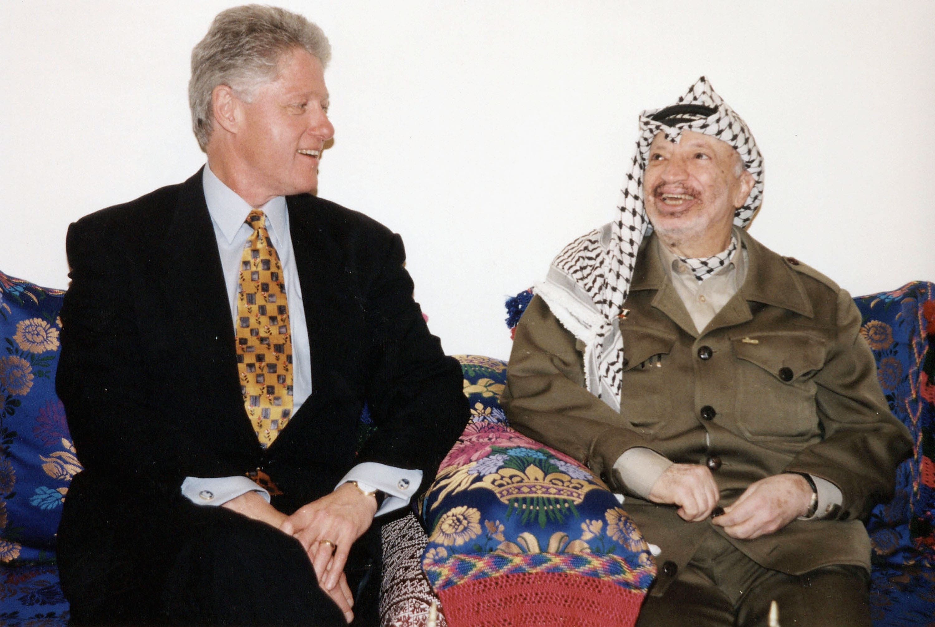 Bill Clinton made some supposed roads to that elusive peace, stalling on statehood via Osla.