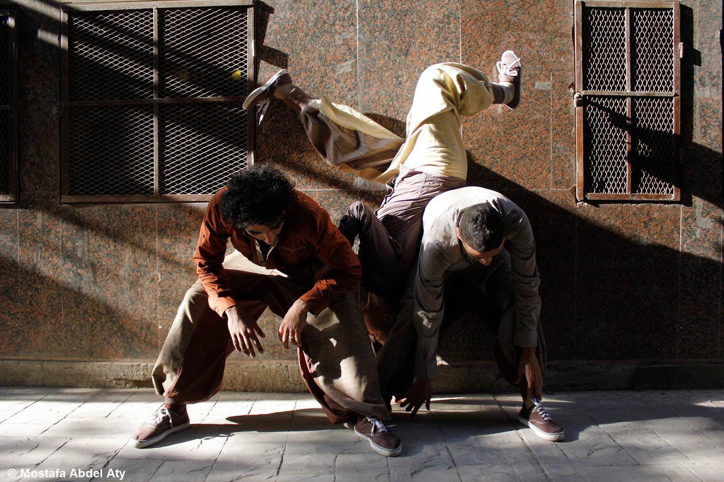 Downtown Cairo has been showing off mad contemporary dance skillz before at the contemporary arts festival. (Image: Facebook)