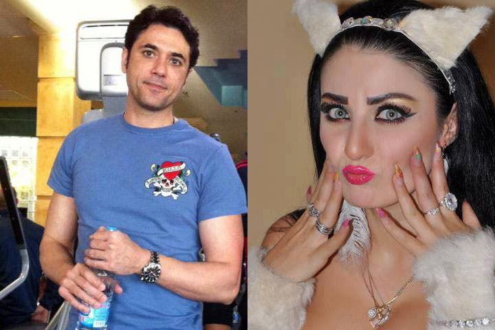 Safinaz said that she dreams of being with a man just like Ahmed Ezz. (Image: Facebook)