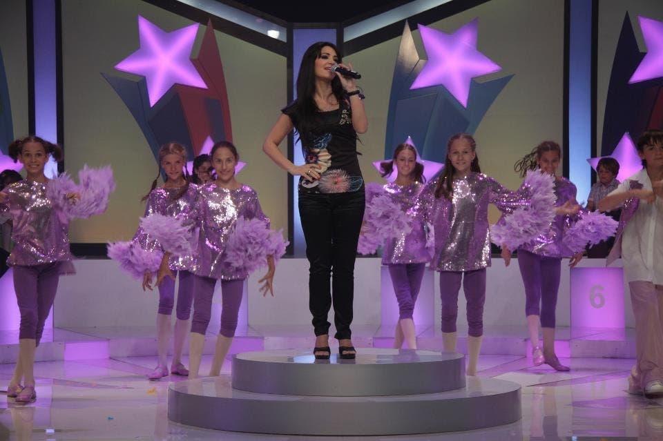 Diana Haddad performs live.